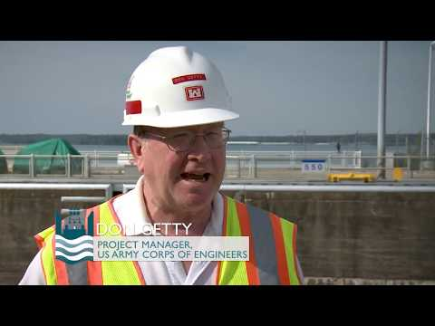 U.S. Army Corps Of Engineers' Project Manager Don Getty Discusses Lock And Dam Efficiency