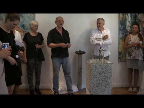 Præsentation af Jussi Adler-Olsen skulpturerne 2 juni 2016