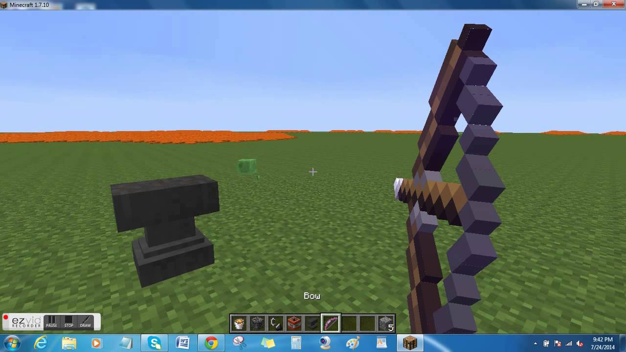 How to make a bow in Minecraft 9