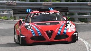 The Most Extreme Alfa Romeo 4C: Marco Gramenzi' 600hp New Hillclimb Monster!!