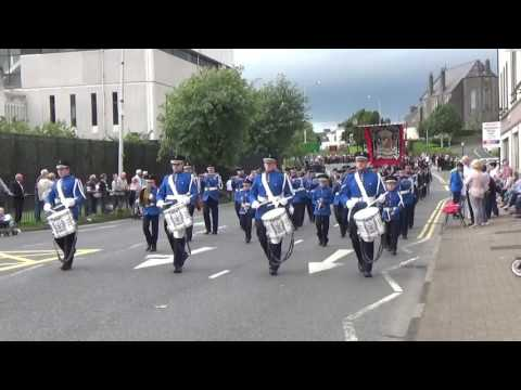 Brookeborough Flute Band @ County Fermanaghs Black Saturday 2015 (3)