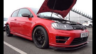VW Golf 7R - 570bhp On Stock Engine With TTE555 IS38 Turbo