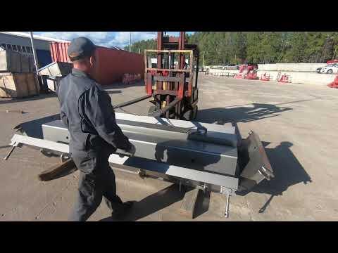 Форма для изготовления железобетонного/бетонного лотка