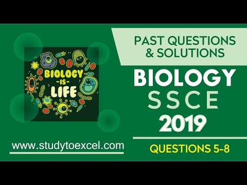 Download WAEC BIOLOGY 2019  PAST QUESTIONS 5-8 CELL DIVISION