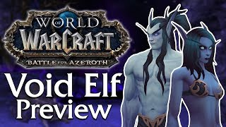 Allied Race Preview: Void Elf | World of Warcraft