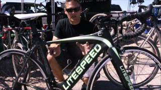 Litespeed Bicycles 2013 @ Interbike 2012