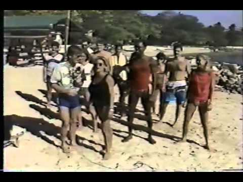 MTV Hedonism Weekend in Jamaica with Bon Jovi   Samantha Fox and VJ Alan Hunter 1987)