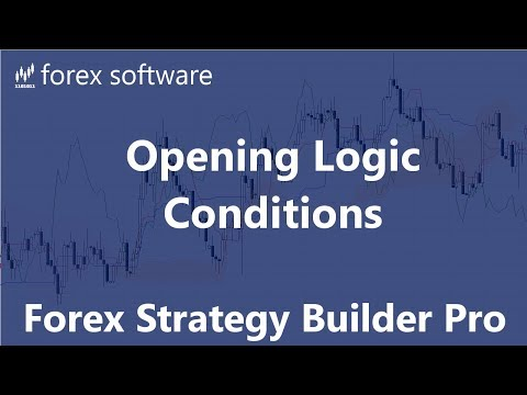 Opening Logic Conditions - Forex Strategy Builder