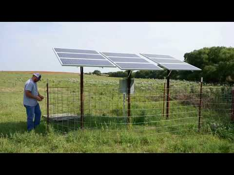 K765H Solar Powered Water Pumping System for Ponds by Advanced Power Inc.