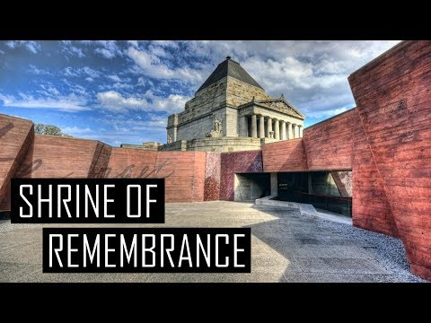 Melbourne Shrine of Remembrance - Amazing Monument
