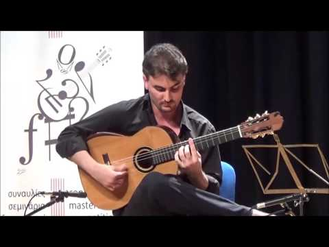 Michaelangelo Niarchos at 33th Volos International Guitar Festival 2016