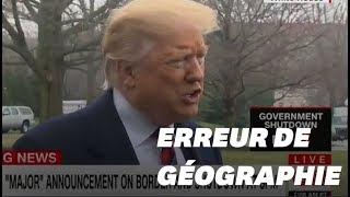 Baixar Trump cite San Antonio, à 240km de la frontière et sans mur, pour défendre son projet