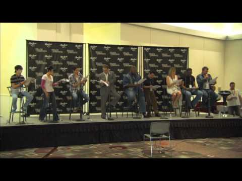 BotCon 2011: Cast reading of TRANSFORMERS PRIME