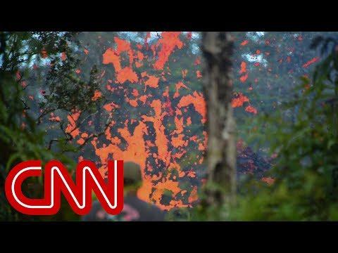 Hawaii residents flee after Kilauea volcano eruptions