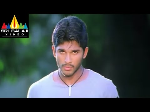 Bunny Movie Allu Arjun Prakash Raj Scene at Hostel | Allu Arjun, Gouri Mumjal | Sri Balaji Video