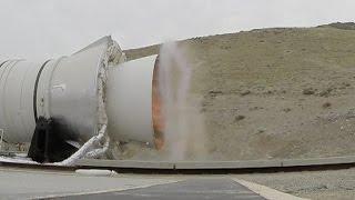 GoPro captures QM1 rocket smoke ring before melting