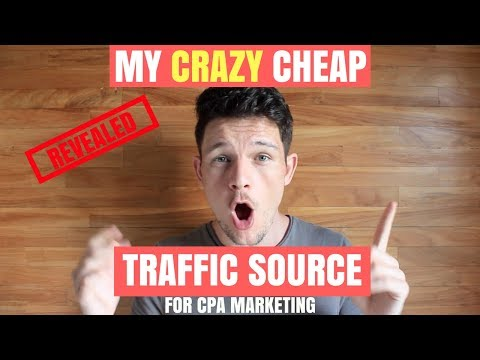CRAZY CHEAP Traffic Source I used to Make $20K with CPA Marketing | Max Bounty