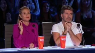 Sofie Dossi gets Reba McEntires Golden Buzzer   Judge Cuts 2 Full   America&#39s Got Talent 2016