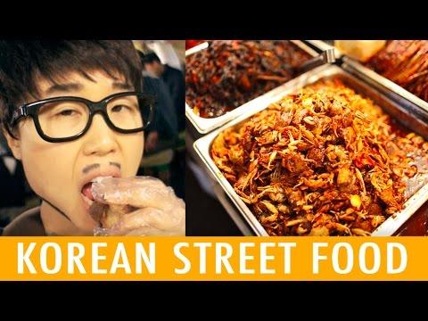 Korean Street Food at Gwangjang Market (KWOW #198)