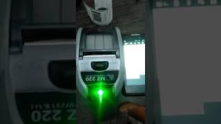 видео Zebra MZ 220