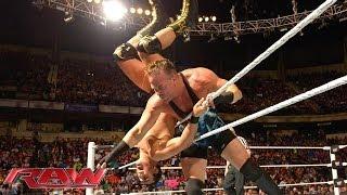 Rob Van Dam vs. Alberto Del Rio -- Intercontinental Title Tournament Match : Raw, April 14, 2014