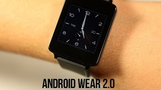 Обзор Android Wear 2.0