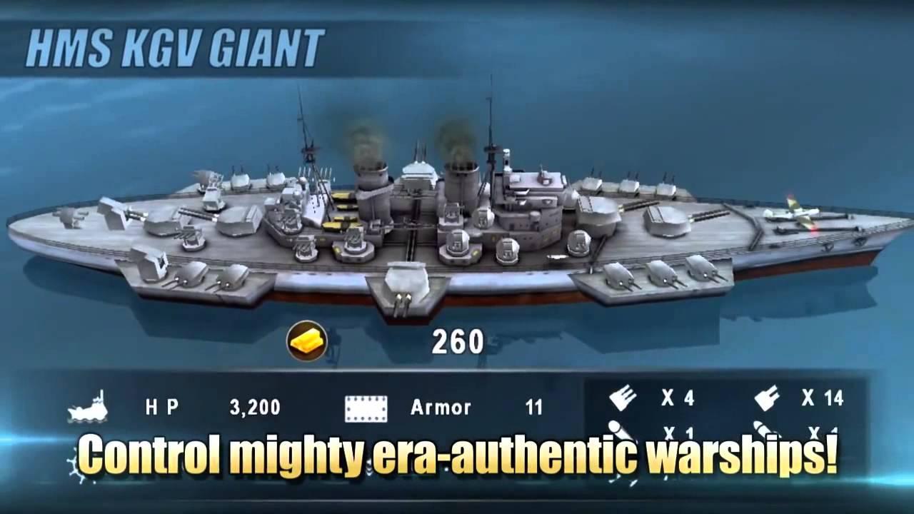 WARSHIP BATTLE 3D World War II 2 8 4 Apk + Mod + Data for