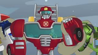 "Transformers: Rescue Bots - ""Light the Fire"" Music Video"
