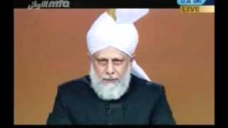 Friday Sermon July 22nd, 2011