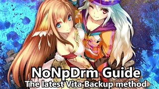 NoNpDrm Guide: The cleanest Vita game backup method
