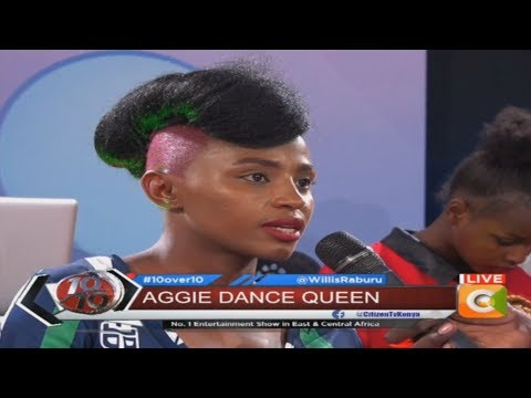 Aggie - I didnt know that the video would be such a hype #10Over10