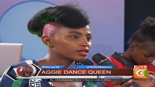 Aggie - I didn't know that the video would be such a hype #10Over10