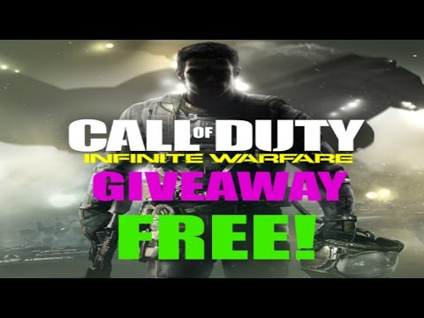 Call of Duty: Infinite Warfare GIVEAWAY! (ALL PLATFORMS)
