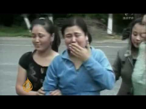 Kyrgyz troops accused of partiality