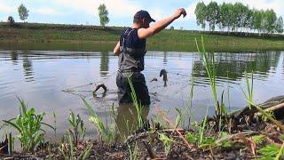 ОДИН ЗАБРОС 30 ЩУК ЭТО КАКОЙ ТО Рыбалка на поплавок и спиннинг Часть 1