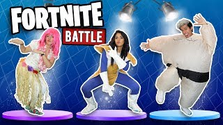 CHALLENGE DANCING FAMOUS INTERNET AND FORTNITE MOVES | POLINESIOS