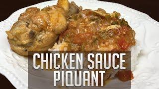 Chicken Sauce Picante (Cajun Recipe)