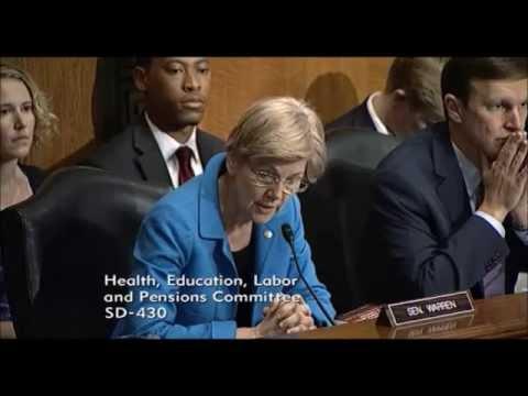 Elizabeth Warren - Private For-Profit Colleges Recieved Accreditation Despite Defrauding Students