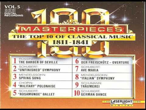 The Top 100 Masterpieces of Classical Music 【 Vol. 5】(10 Volume Set Digital Recording)