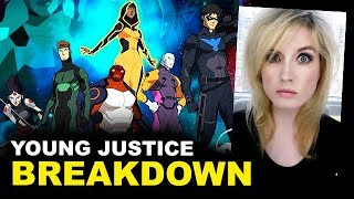 Young Justice Outsiders FIRST LOOK - BREAKDOWN