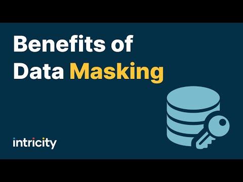 Benefits of Data Masking