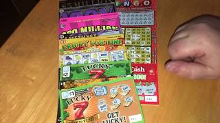 I BOUGHT EVERY TICKET AT THE STORE ..TWICE!! $527 SESSION! BIG WIN! Illinois Lottery Scratch Offs!!