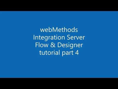webMethods Integration Server with Flow tutorial 4