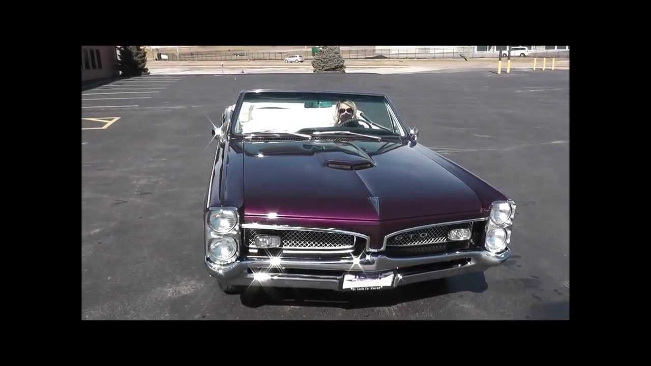 1967 Gto For Sale >> 1967 Pontiac GTO Convertible Purple - YouTube