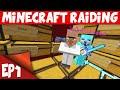 Minecraft Raiding EP1 RICH NETHER SKY VAULT RAID OP Factions