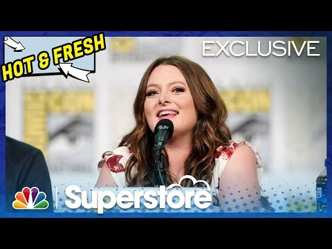 Superstore Panel Highlight: What's Next For Dina And Garrett? - Comic-Con 2019 (Digital Exclusive)