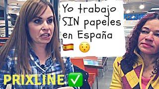 PRIXLINE ✅ Trabajo en España SIN papeles 😳