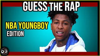 Guess the Song YoungBoy Never Broke Again-NBA YoungBoy Name the Rap Trivia Quiz