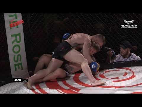 Almighty Fighting Championship 8 - Bryan Creighton v Jamie Powell