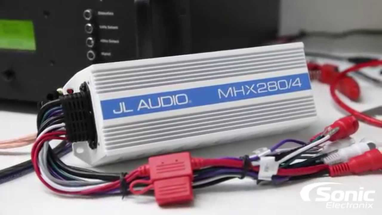 JL Audio MHX2804 Marine Amplifier Dyno Test | SMD D'Amore AD1  YouTube